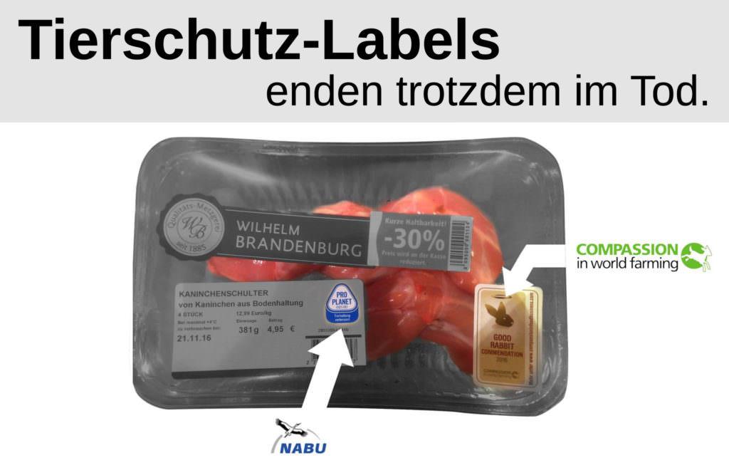 Tierschutz-Labels - endet trotzdem im Tod