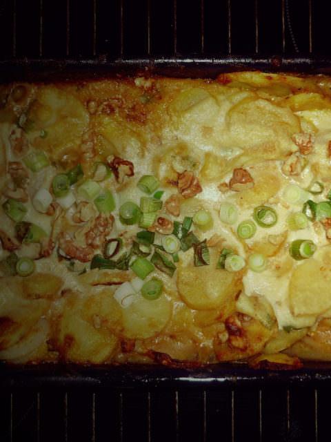 Kartoffelgratin - Kartoffelauflauf